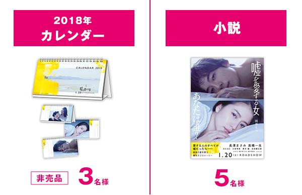 パブグッズ(卓上カレンダー)/ノベライズ本