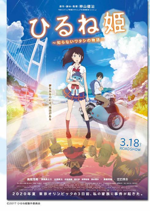 『ひるね姫 〜知らないワタシの物語〜』ポスター