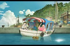 劇場アニメ映画『漁港の肉子ちゃん』